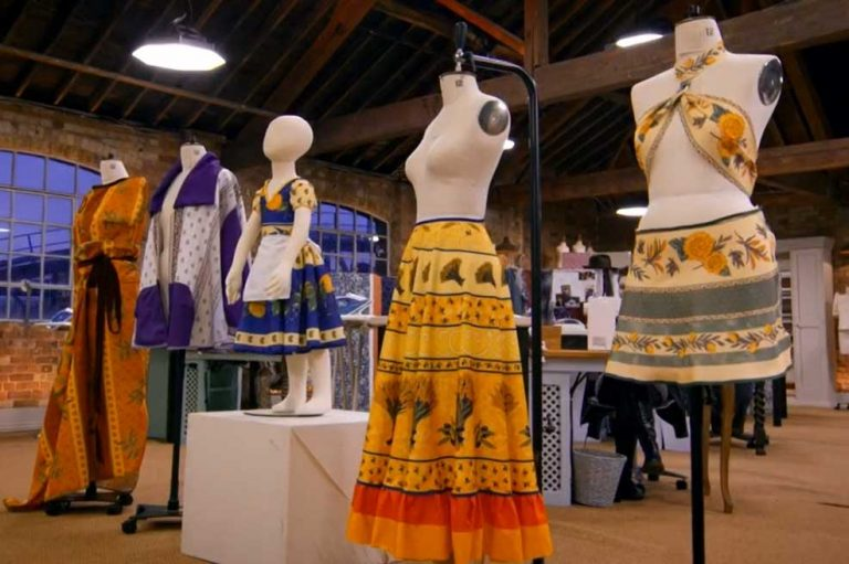 Garments made from Provence tablecloths