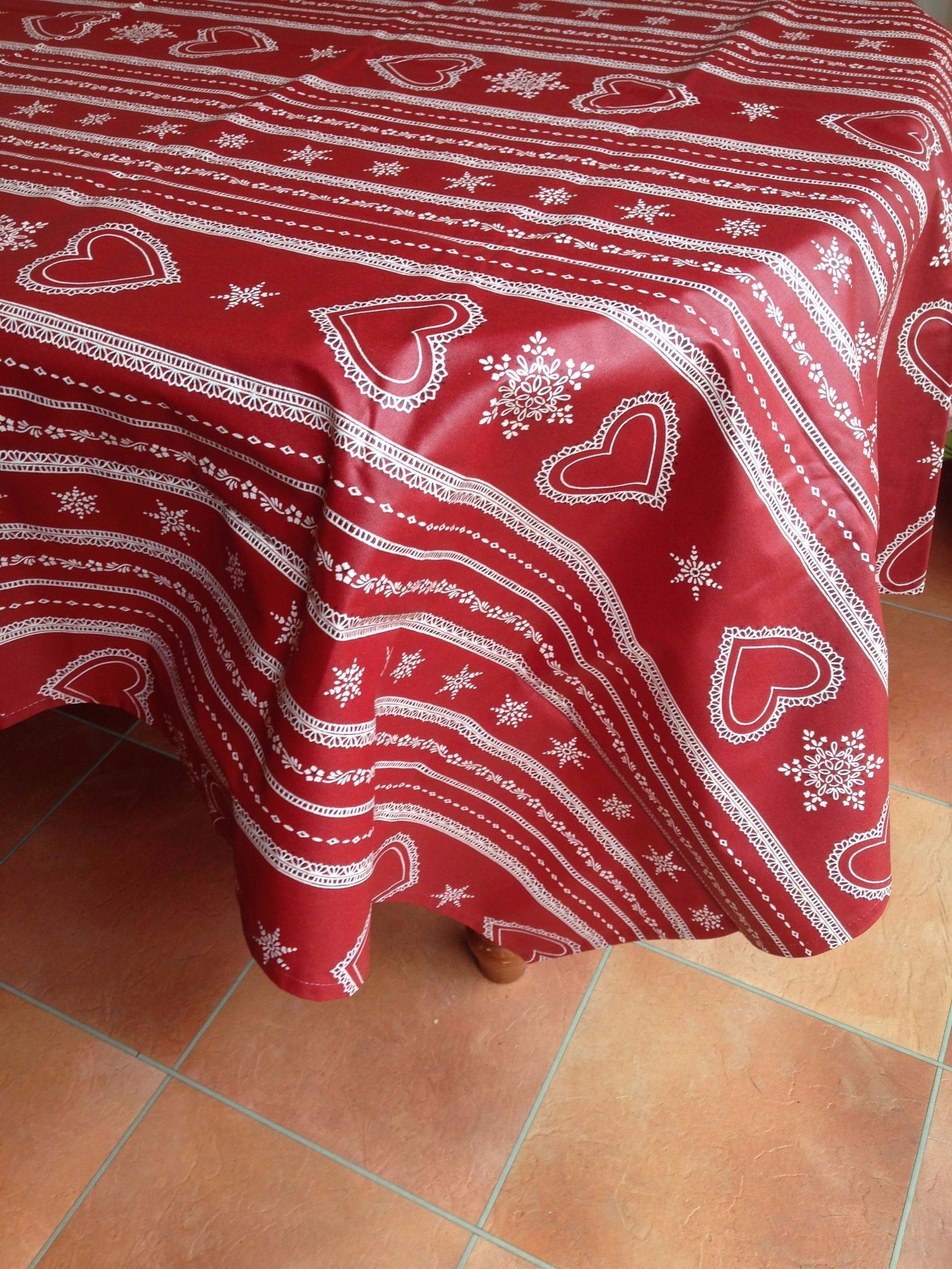 Wipe Clean Coated Tablecloths